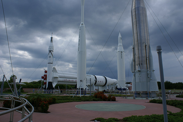 Kennedy Space Center Cape Canaveral Floryda