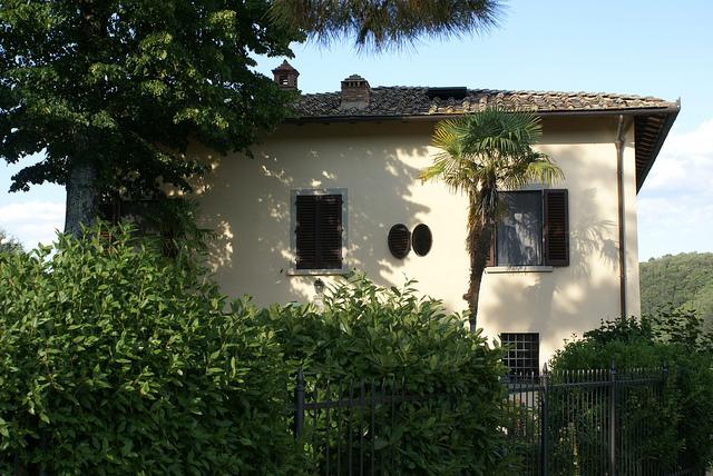 Villa il Castellaccio, Chianti, Włochy