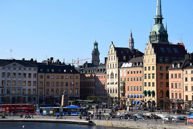 Gamla Stan Sztokholm Szwecja