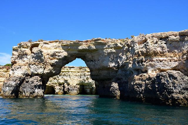 Wybrzeże Algarve Portugalia