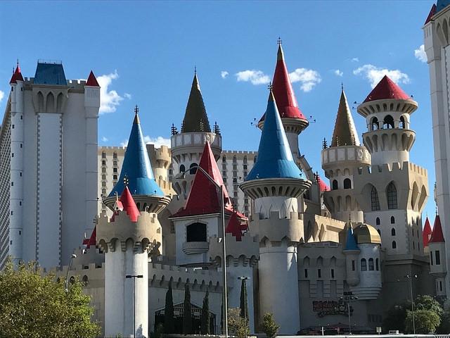 Las Vegas The Strip Excalibur