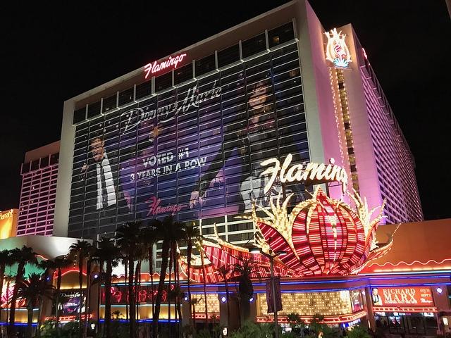 Las Vegas The Strip Flamingo