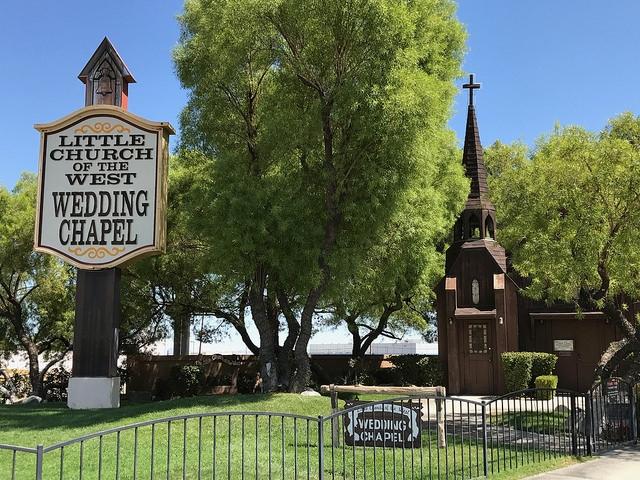 Las Vegas The Strip Little Church of the west Wedding Chapel