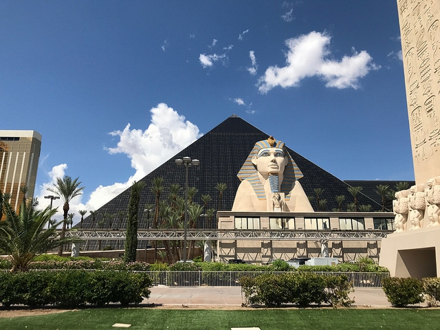 Las Vegas The Strip Luxor