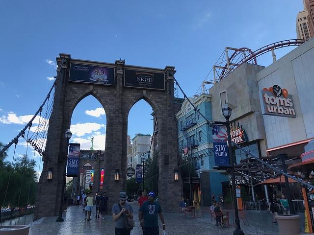 Las Vegas The Strip New York
