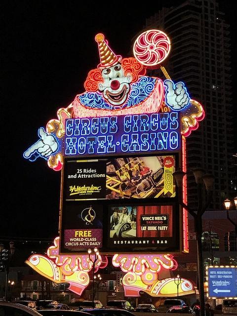 Las Vegas The Strip Circus Circus