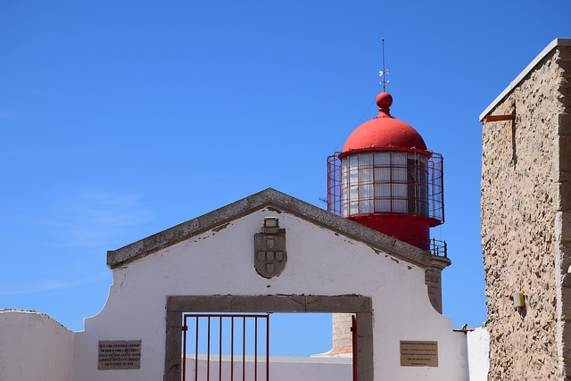 Cabo de Sao Vicente Algarve Portugalia