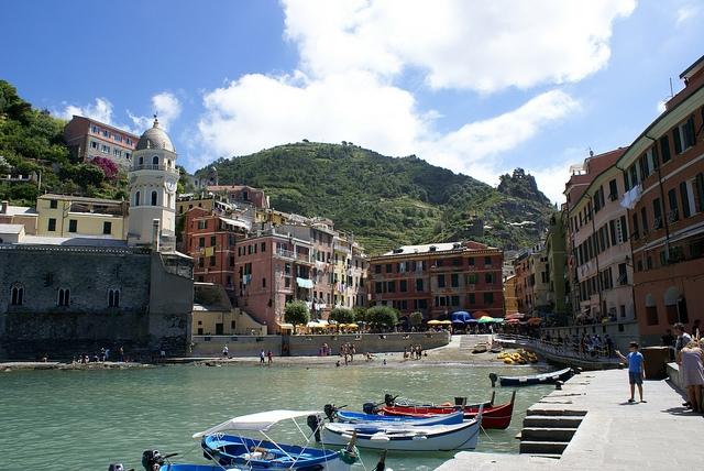 Vernazza Cinque Terre Włochy