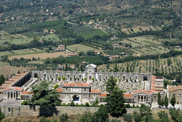 Cortona Toskania Włochy