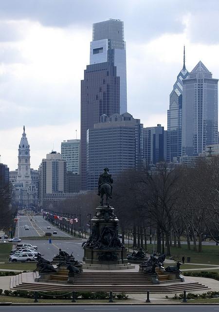 The Washington Monument Philadelphia