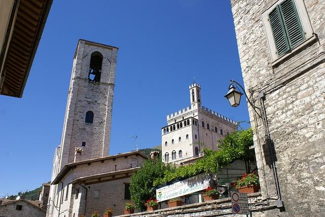 Gubbio Umbria Włochy
