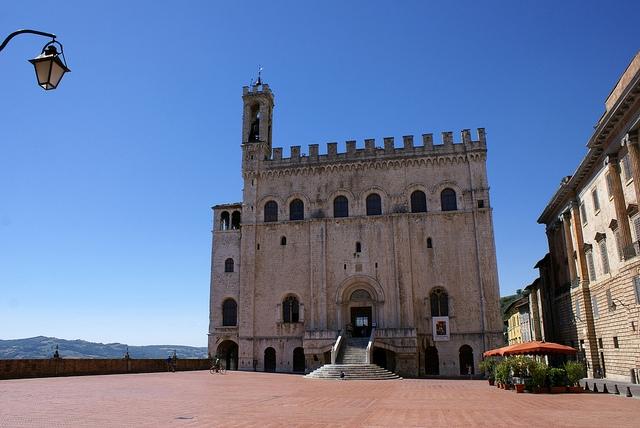 Palazzo dei Consoli Gubio Umbria Włochy