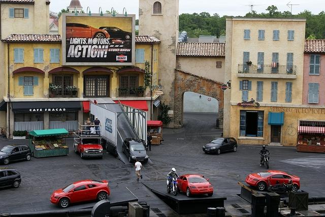Disney's Hollywood Studios Orlando Lights, Motors, Action! Extreme Show