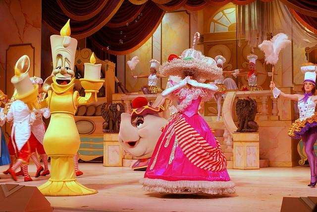 Disney's Hollywood Studios Orlando Piękna i Bestia Show