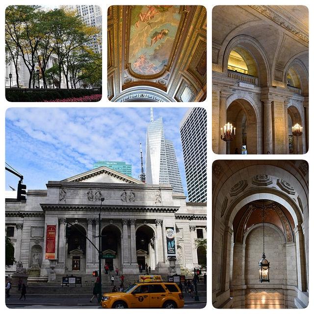 Nowy Jork Manhattan NJ Public Library