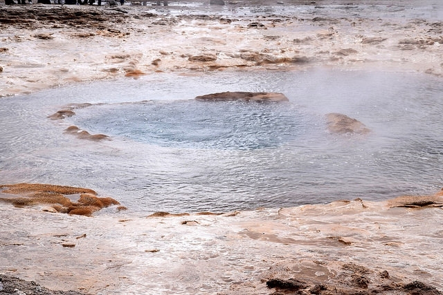Islandia, Golden Circle, Geysir, Strokkur