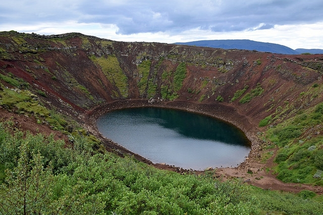 Islandia, Golden Circle, Krater Kerið (Kerid)