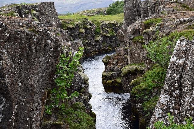 Islandia, Golden Circle, Park Narodowy Þingvellir (Thingvellir)