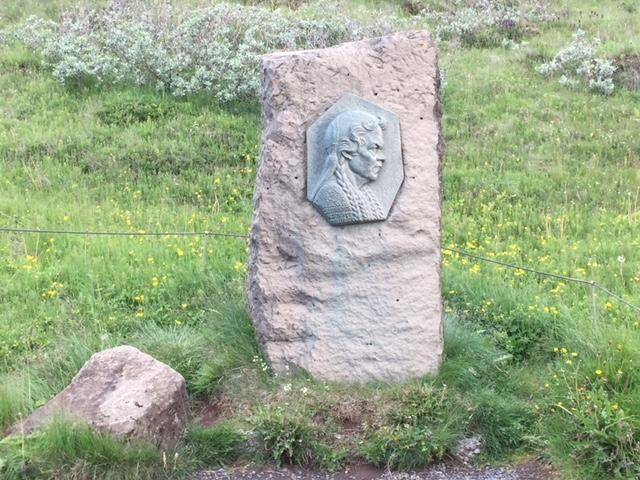Islandia, Golden Circle, Wodospad Gullfoss, Sigridur Tomasdottir