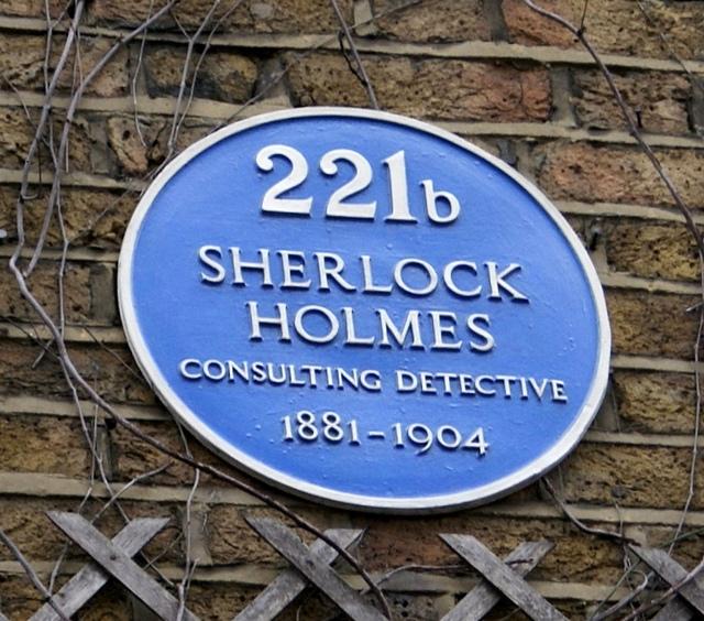 Londyn Baker Street 221b