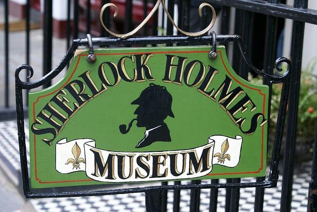 Londyn Muzeum Sherlocka Holmesa