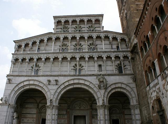 Duomo di San Martino (katedra św. Marcina) Lukka Toskania Włochy