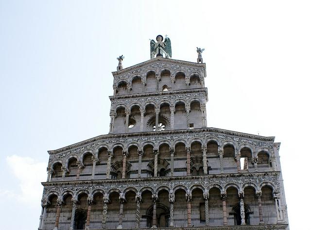 Kościół św. Michała Archanioła Lukka Toskania Włochy
