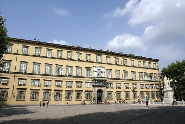 Piazza Napoleone Lukka Toskania Włochy