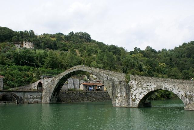 Ponte della Magdalena (Most Magdaleny) Toskania Włochy