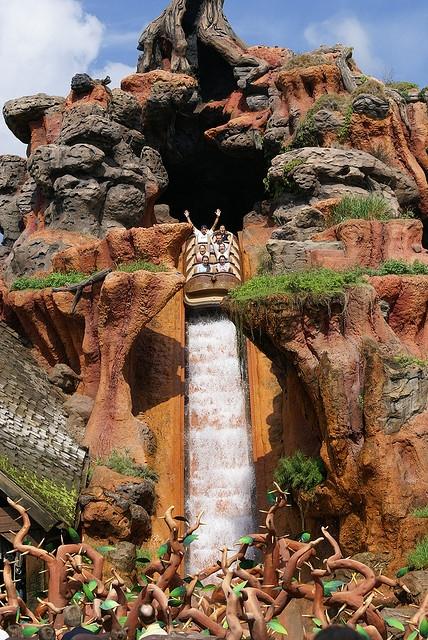 Magic Kingdom Orlando Splash Mountain