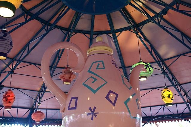 Magic Kingdom Orlando Tea Cup