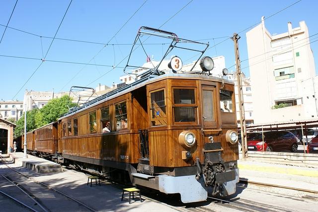 Pociąg do Soller Majorka