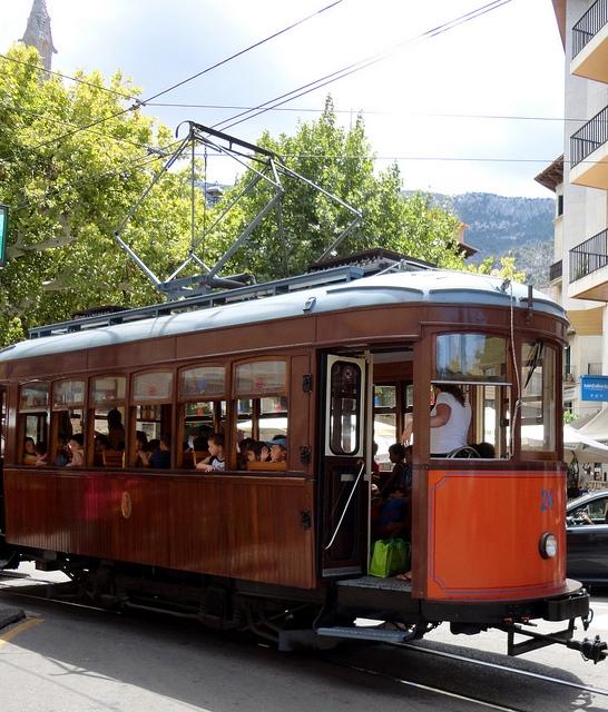 zabytkowy tramwaj w Soller