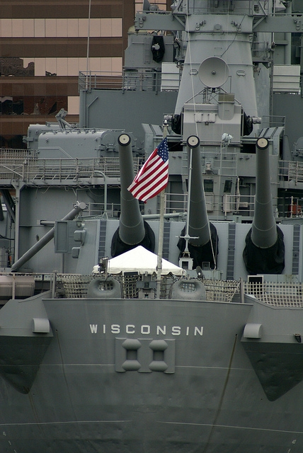 Naval Station Norfolk Wisconsin (BB-64)