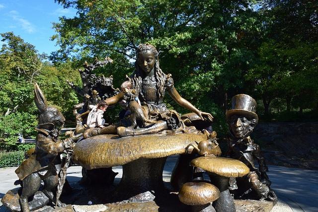 Nowy Jork Central Park Alicja w Krainie Czarów