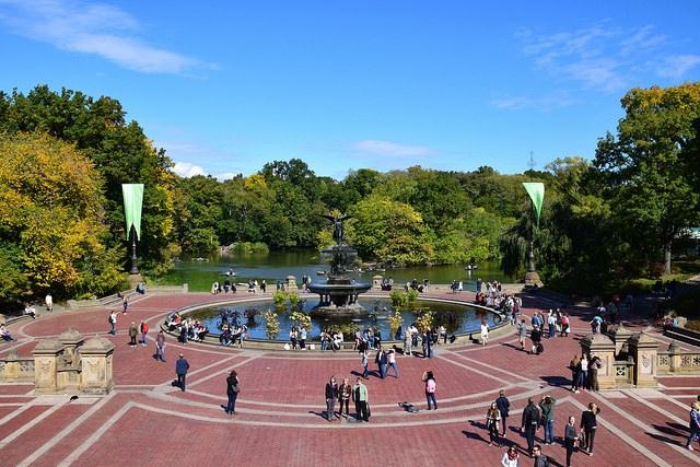 Nowy Jork Central Park Bethesda Terrace