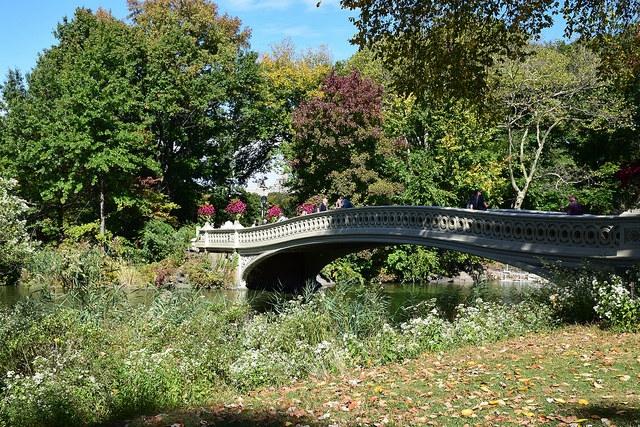 Nowy Jork Central Park Bow Bridge