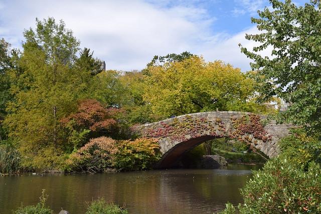 Nowy Jork Central Park Gapstow Bridge