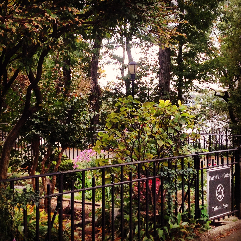 Nowy Jork 91st Street Garden, Riverside Park Manhattan