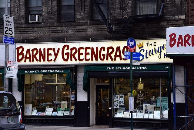 Nowy Jork Barney Greengrass Manhattan