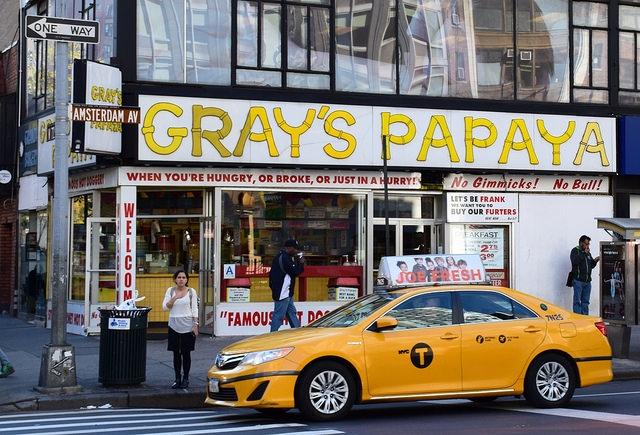 Nowy Jork Gray\'s Papaya Manhattan