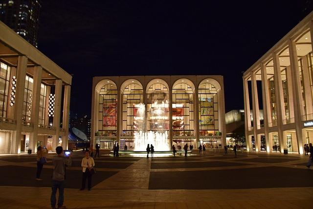 Nowy Jork Lincoln Center Manhattan