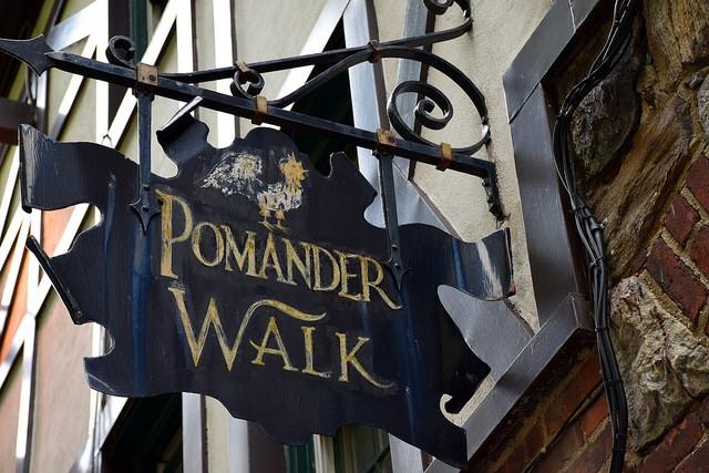Nowy Jork Pomander Walk Manhattan