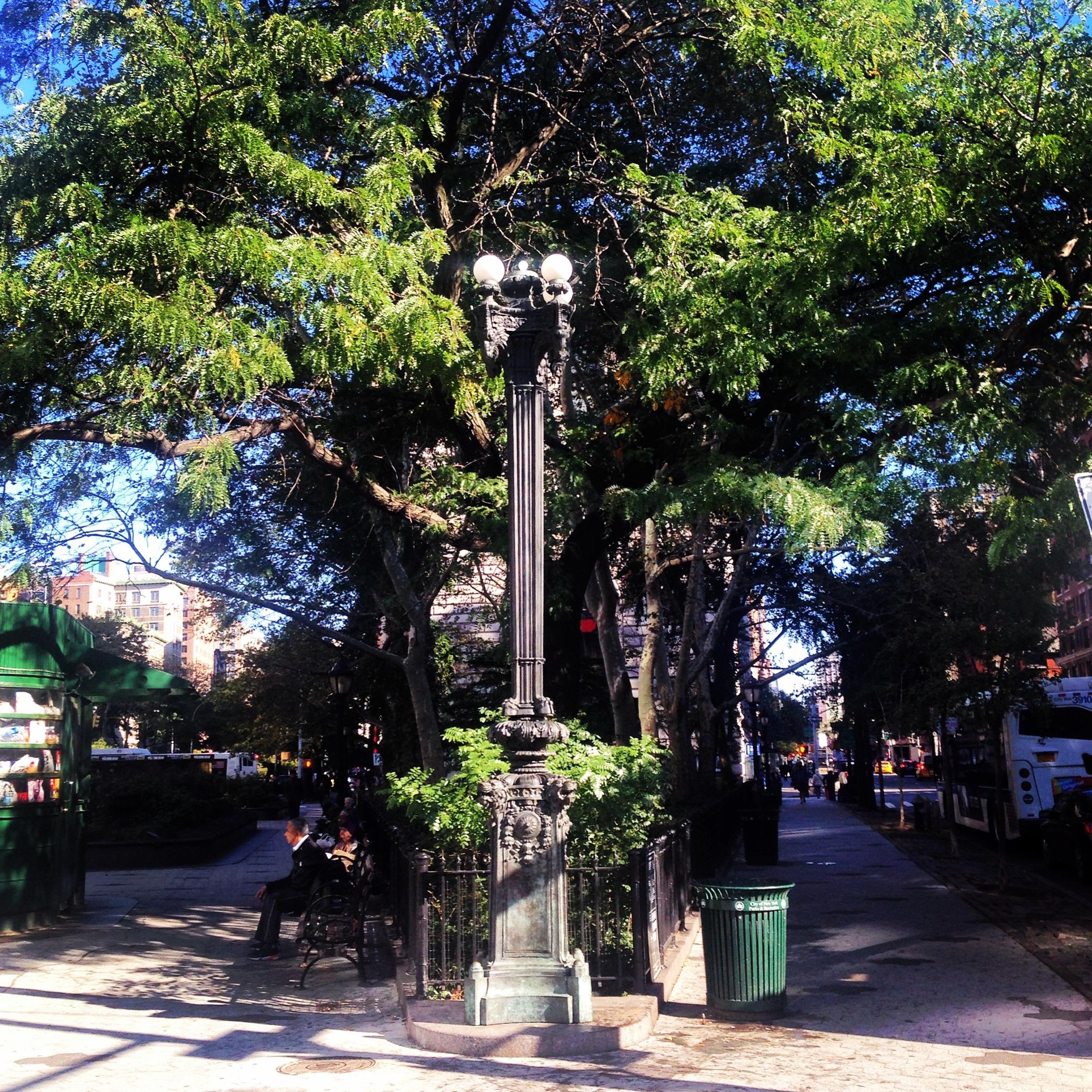 Nowy Jork Verdi Square Manhattan