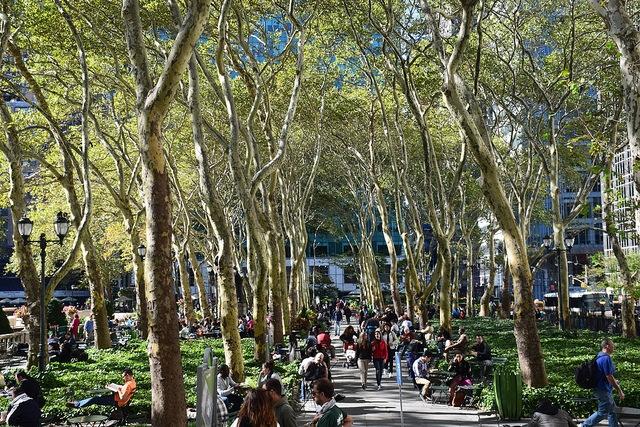 Nowy Jork  Manhattan Bryant Park