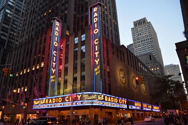 Nowy Jork Manhattan Radio City Music Hall