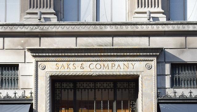 Nowy Jork Manhattan Saks Fifth Avenue
