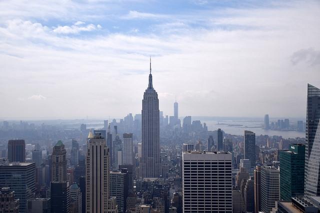 Nowy Jork Manhattan Top of the Rock