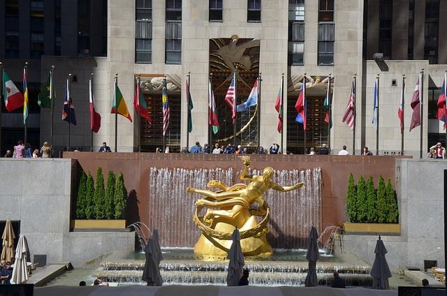 Rockefeller Center Nowy Jork USA