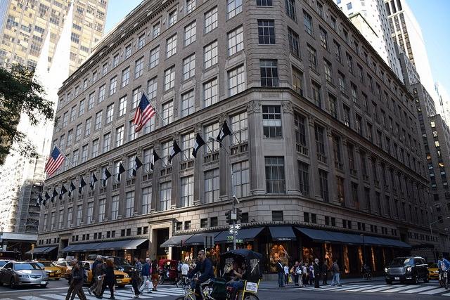 Saks Fifth Avenue Manhattan Nowy Jork